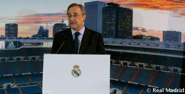Real Madrid Kembali Dipimpin Peres Sampai 2021