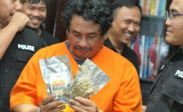 Seorang Pria Penjual Narkoba Jenis Mushroom Diringkus Polisi