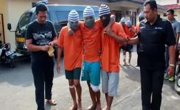 Petugas Polres Indramayu Berhasil Menangkap Kawanan Begal Motor