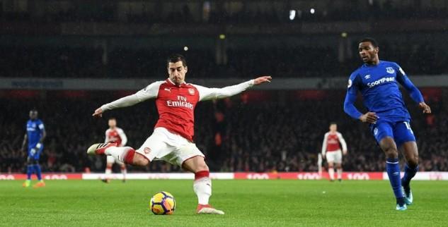Henrikh Mkhitaryan Jadi Motor Kemenangan Arsenal