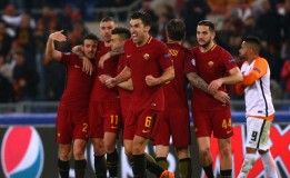 As Roma Lolos Ke Perempatfinal
