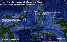 Gempa Perairan Di Maluku
