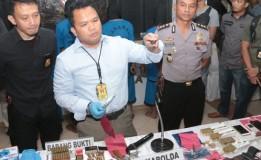 Polisi Gagalkan Penjualan Senjata Api Ilegal