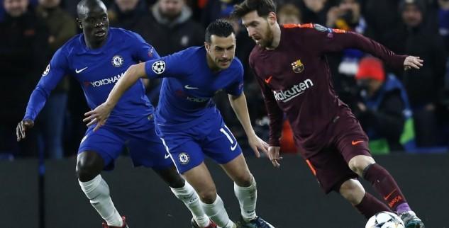 Prediksi Score Barcelona vs Chelsea 15 Maret 2018