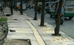 MUI Menyesalkan Lafal Allah Di Titik Trotoar Di Jalan Leuwipanjang