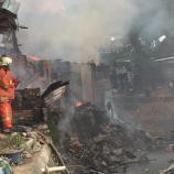Kebakaran Di Pondok Bambu Ada 42 Tempat Tinggal Yang Terbakar