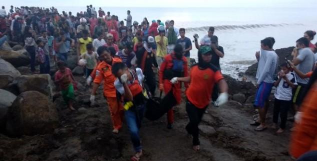 Polisi Kesulitan Evakuasi Jenazah Adi Yang Telah Di Nyatakan Hilang Selama 4 Hari
