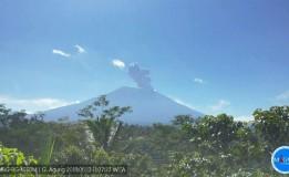 Gunung Agung Di Bali Kembali Erupsi Hari Ini