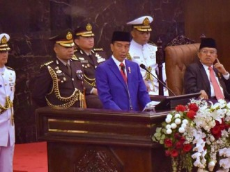 Semangat Kemerdekaan Di Salurkan Jokowi