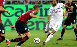 Cagliari Berhasil Menahan Imbang AC Milan