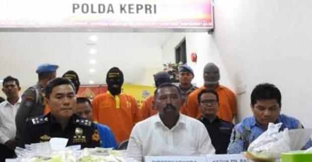 Polisi Gagalkan Penyelundupan Narkoba