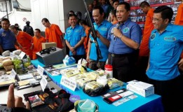 Selundupkan 18 Kg Sabu dari Malaysia, BNN Tangkap 5 Orang