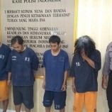 Polisi Berhasil Tangkap 4 Pelaku Pencurian Kayu Manis di Temanggung