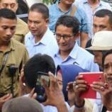 Sandiaga Di Teriaki Pak Wapres di Surabaya Saat Kawal Rekapitulasi Suara